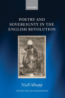 Poetry and Sovereignty in the English Revolution Pdf/ePub eBook