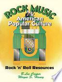Rock Music in American Popular Culture