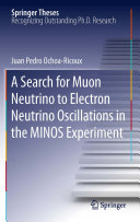 Pdf A Search for Muon Neutrino to Electron Neutrino Oscillations in the MINOS Experiment Telecharger