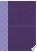 CSB Study Bible  Purple LeatherTouch  Indexed