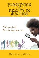 Perception Vs Reality in Culture Pdf/ePub eBook