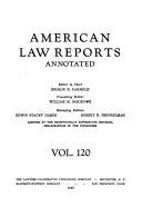 American law reports annotated