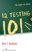 IQ Testing 101 Pdf/ePub eBook