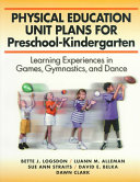 Physical Education Unit Plans for Preschool kindergarten