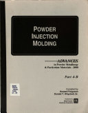 Advances in Powder Metallurgy   Particulate Materials  2000  State of the North American P