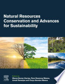 Natural Resources Conservation and Advances for Sustainability