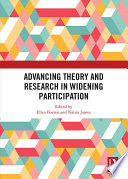 Advancing Theory and Research in Widening Participation