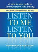 Pdf Listen to Me, Listen to You