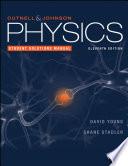 Physics, 11e Student Solutions Manual