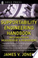 Supportability Engineering Handbook