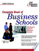 Complete Book of Business Schools
