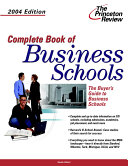 Complete Book of Business Schools