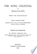 The Song Celestial  Or  Bhagabad g  t    from the Mah  bh  rata  Book PDF