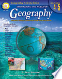 Discovering the World of Geography  Grades 4   5