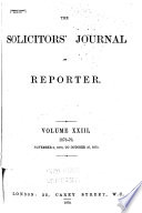 The Solicitors  Journal Book