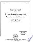 New Era Of Responsibility