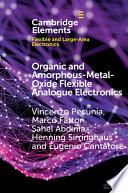 Organic and Amorphous Metal Oxide Flexible Analogue Electronics Book