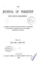 Forestry A Journal Of Forest And Estate Management Book PDF