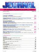 Journal of Career Planning   Employment