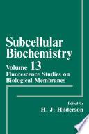 Fluorescence Studies on Biological Membranes