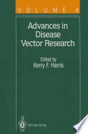 Advances in Disease Vector Research Book