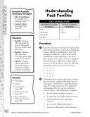 Academic Vocabulary Level 1  Understanding Fact Families
