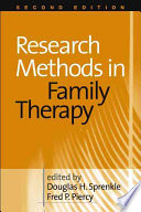Research Methods In Family Therapy