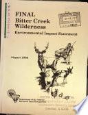 Bitter Creek Wilderness