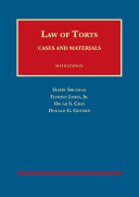 Cases and Materials on the Law of Torts   Casebookplus