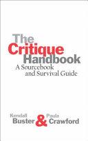 The Critique Handbook