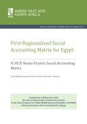 First regionalized social accounting matrix for Egypt: A 2015 nexus project social accounting matrix [Pdf/ePub] eBook