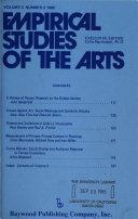 Empirical Studies of the Arts