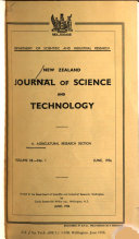 The New Zealand Journal of Science and Technology Book PDF