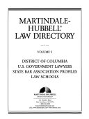 The Martindale-Hubbell Law Directory - Band 5