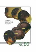 Disease Resistance in Fruit Book