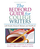 The Bedford Guide for College Writers Book