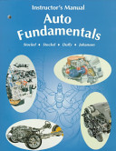 Instructor's Manual for Auto Fundamentals