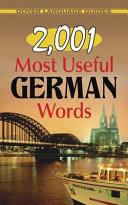 2 001 Most Useful German Words