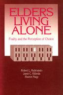 Elders Living Alone ebook