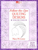 Follow-the-line Quilting Designs