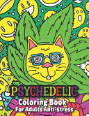 Psychedelic Coloring Book For Adults Anti stress
