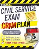 CliffsNotes Civil Service Exam Cram Plan Book