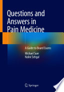 Questions and Answers in Pain Medicine Book