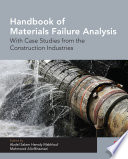 Handbook Of Materials Failure Analysis