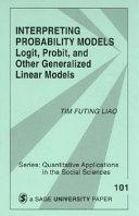 Interpreting Probability Models