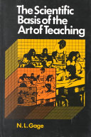 The Scientific Basis of the Art of Teaching