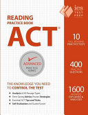 ACT Reading Practice Book