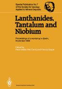 Lanthanides, Tantalum and Niobium [Pdf/ePub] eBook