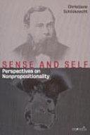Sense and Self