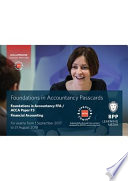 FIA Foundations of Financial Accounting FFA (ACCA F3)